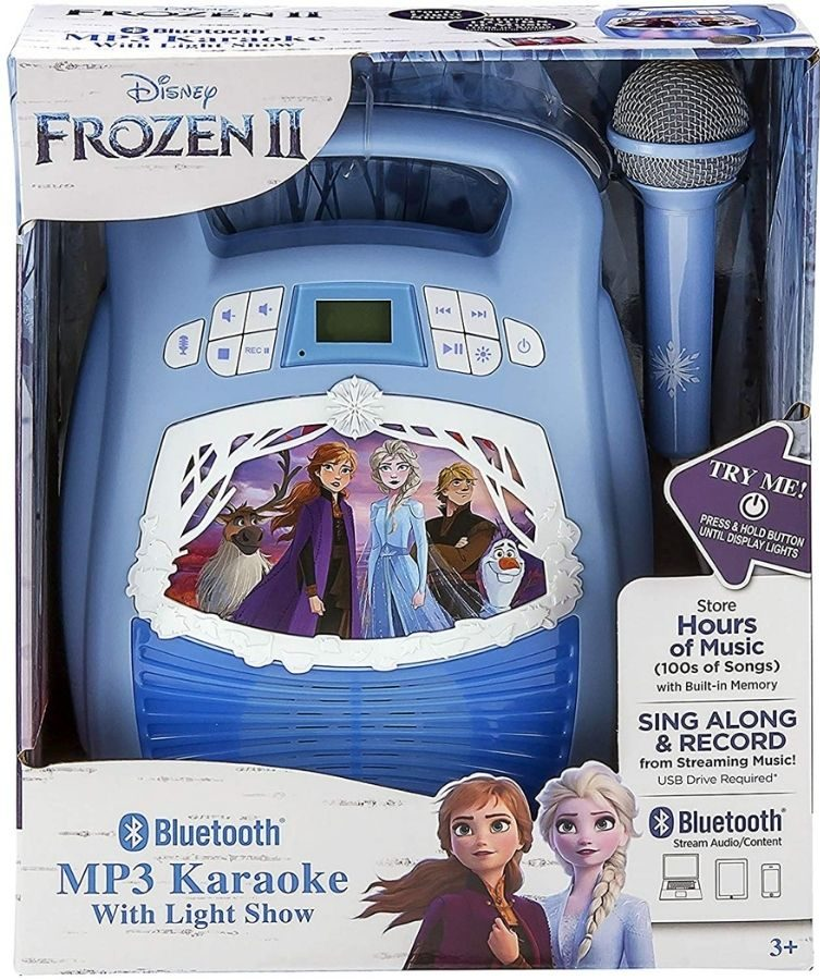 Frozen 2 MP3 Karaoke w Light Show