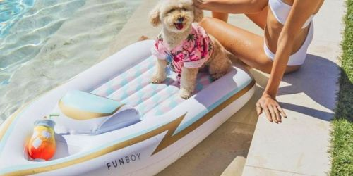 Complimentary Funboy Yacht Dog Float w/ BarkBox Super Chewer Subscription ($59 Value)