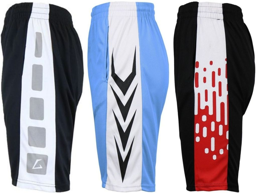 3 pairs of GBH Men's Performance Shorts