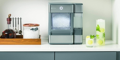 """$100 Off GE Countertop Ice Maker + Free Shipping for Amazon Prime Members (Makes the """"Good Ice"""")"""