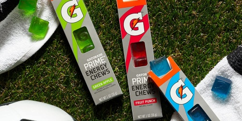 Gatorade Prime Energy Chews 96-Count Only $12.64 Shipped on Amazon