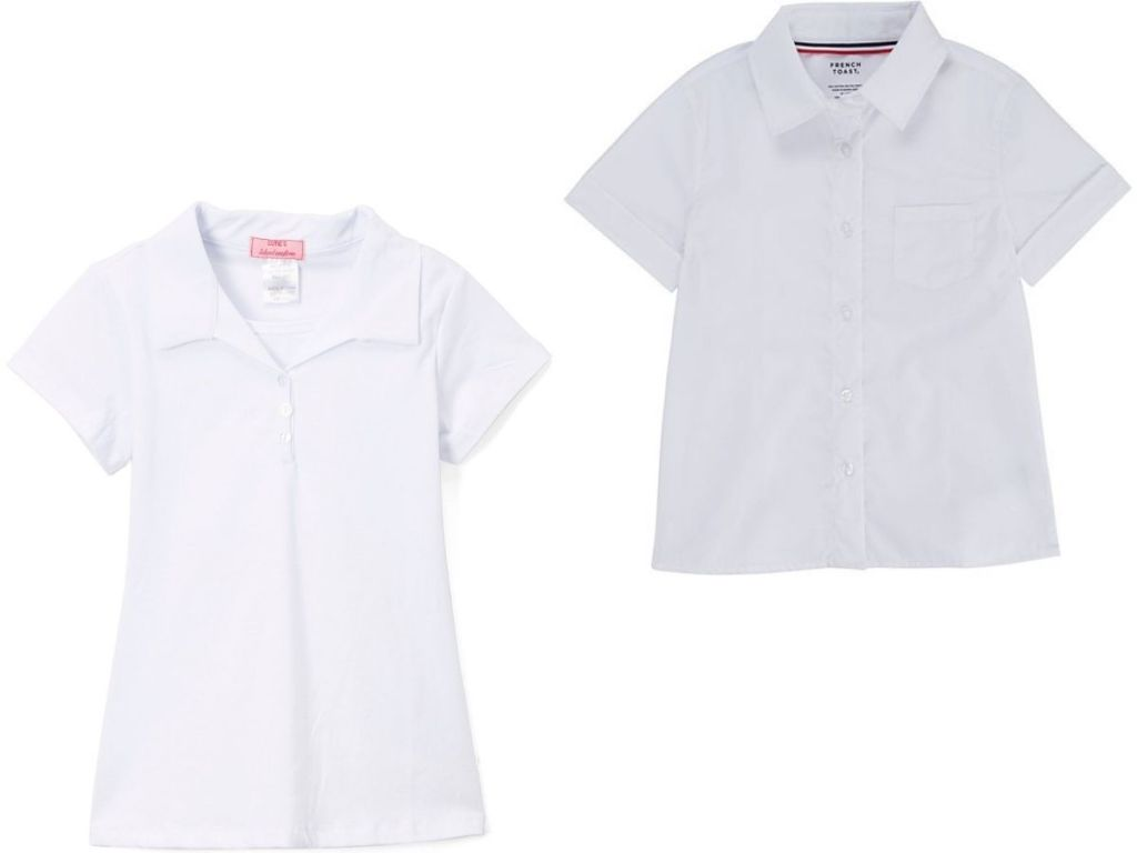 Kids Uniform Separates from $7.99 on Zulily.com | Polos, Skirts, & More