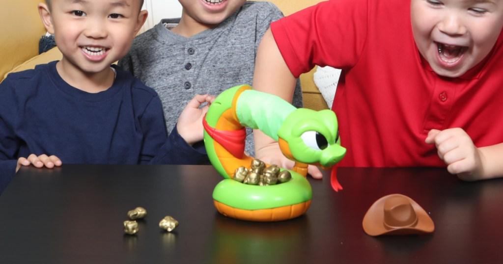Rattlesnake game for kids