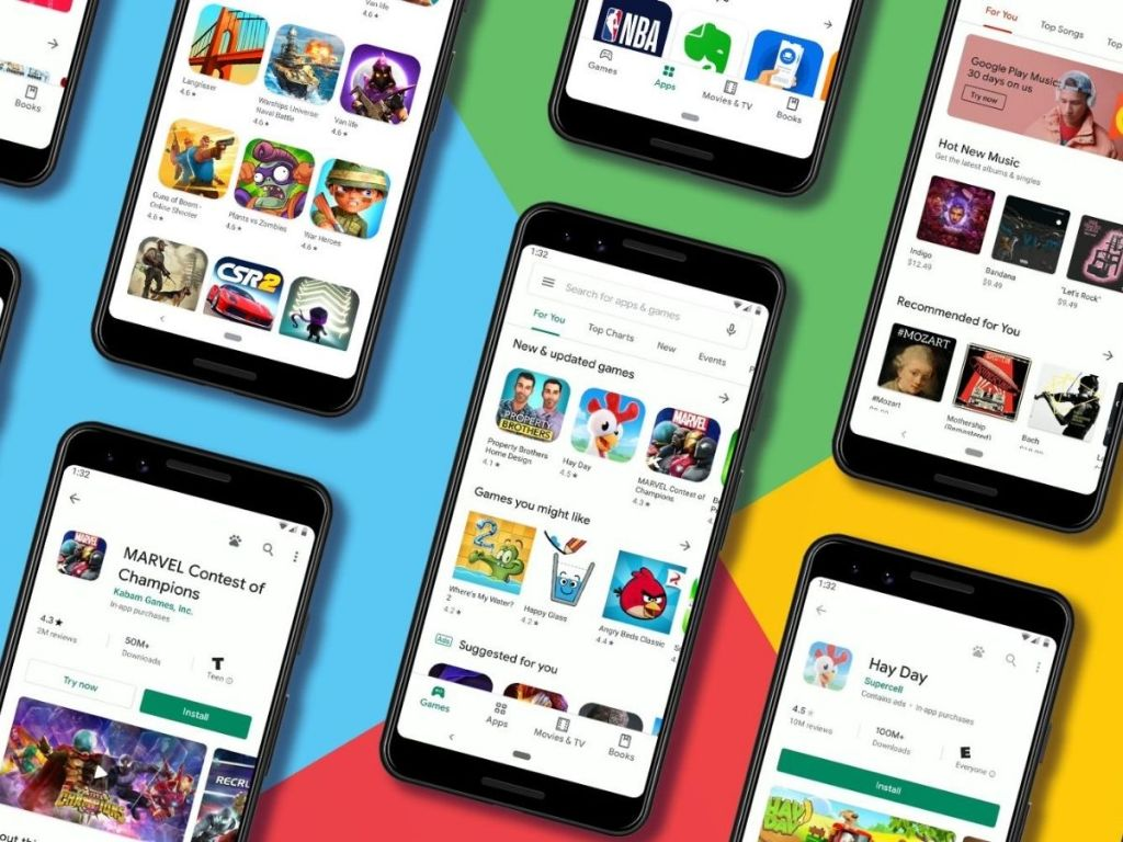 Google Play Pass on Android Phones