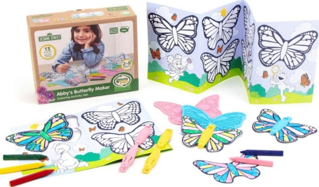 Green Toys Abby's Butterfly Maker Set