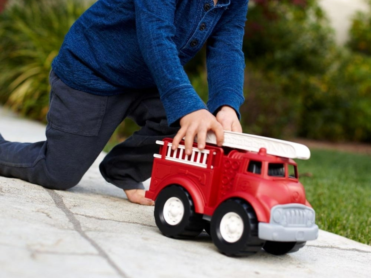 Green Toys Red Fire Truck