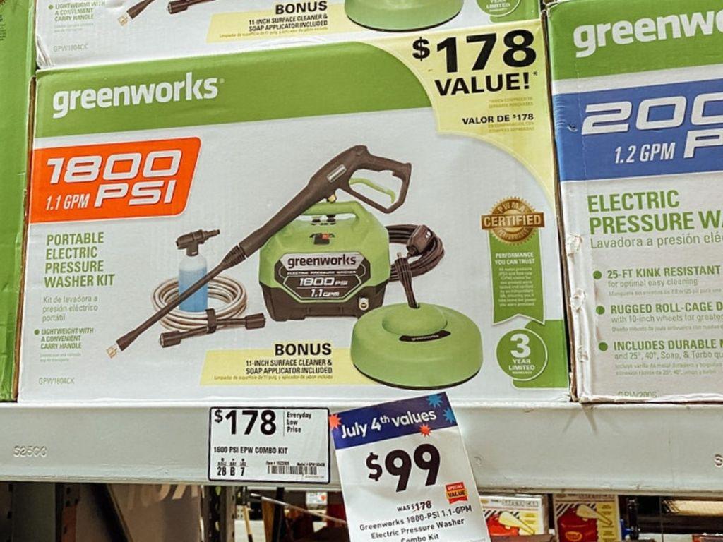 Greenworks Pressue Washer