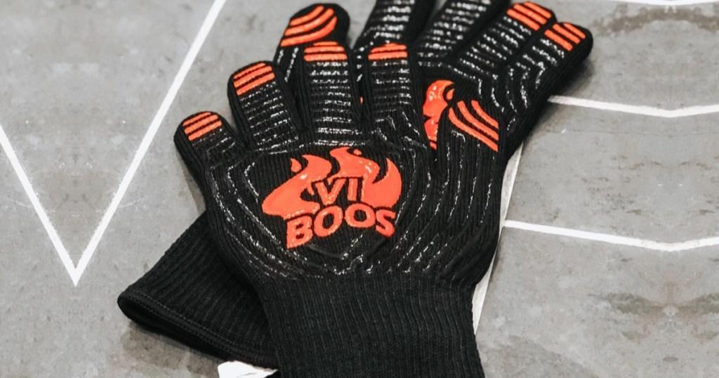 bbq heat resistant gloves
