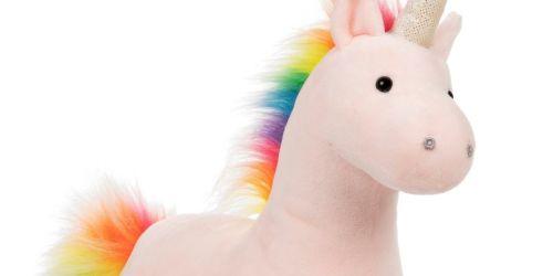 Gund Plush Sparkle Unicorn Just $9.96 on Macy's.com (Regularly $25)