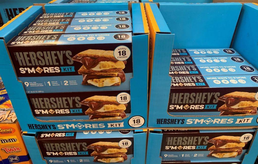 s'mores kits at Costco