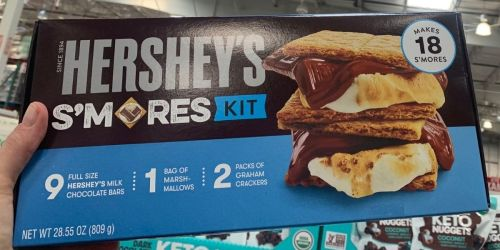 Hershey's S'mores Kits Only $9.59 at Costco   May Sell Out