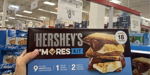 Hershey's S'mores Kit Only $8.78 at Sam's Club   Everything You Need For 18 S'mores