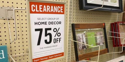 75% Off Home Decor Clearance at Hobby Lobby | Prices from $2.49 In-Store Only