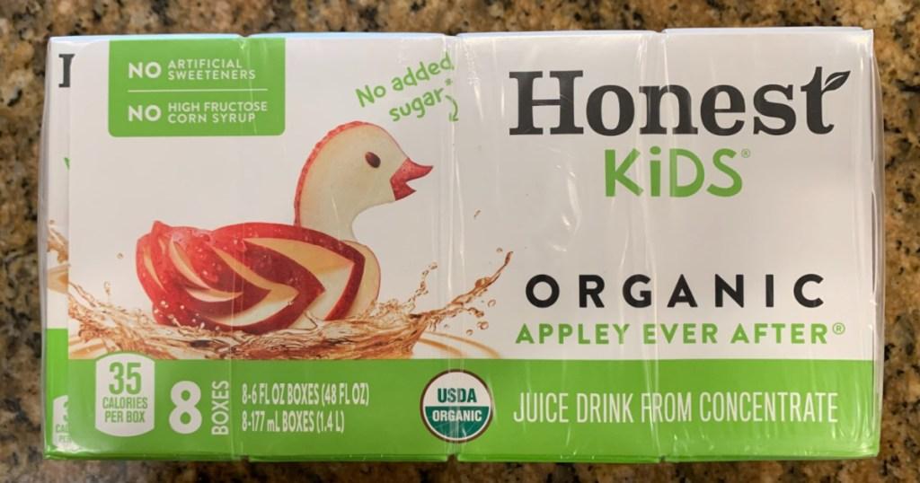 honest kids apple juice boxes