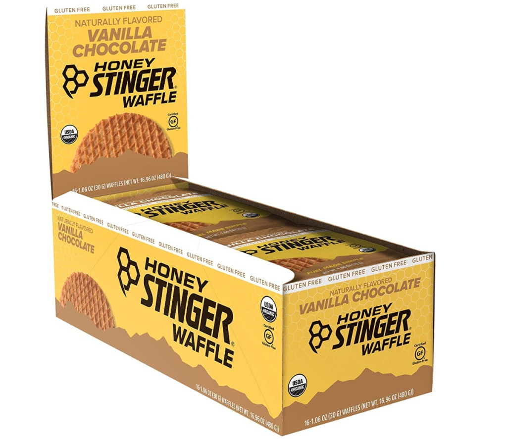 Large package of snacking waffles