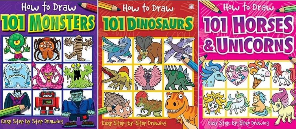 three How to Draw Books