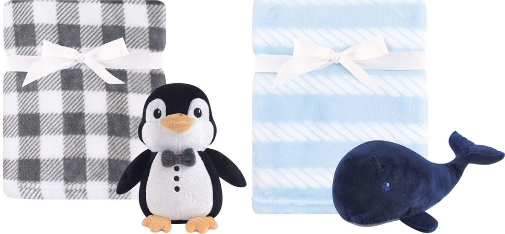 Hudson Baby Blanket and Toys