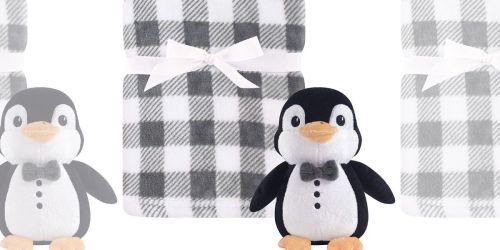 Hudson Baby Blanket w/ Plush Toy from $6.65 on Amazon (Regularly $16)
