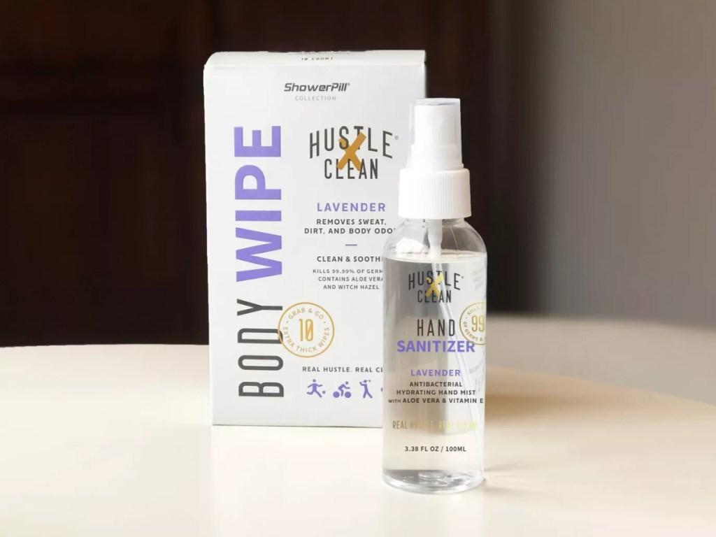 lavender scented hand sanitizer