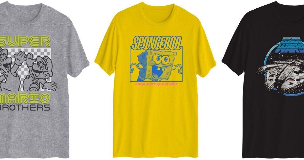 Hybrid Graphic T-Shirts