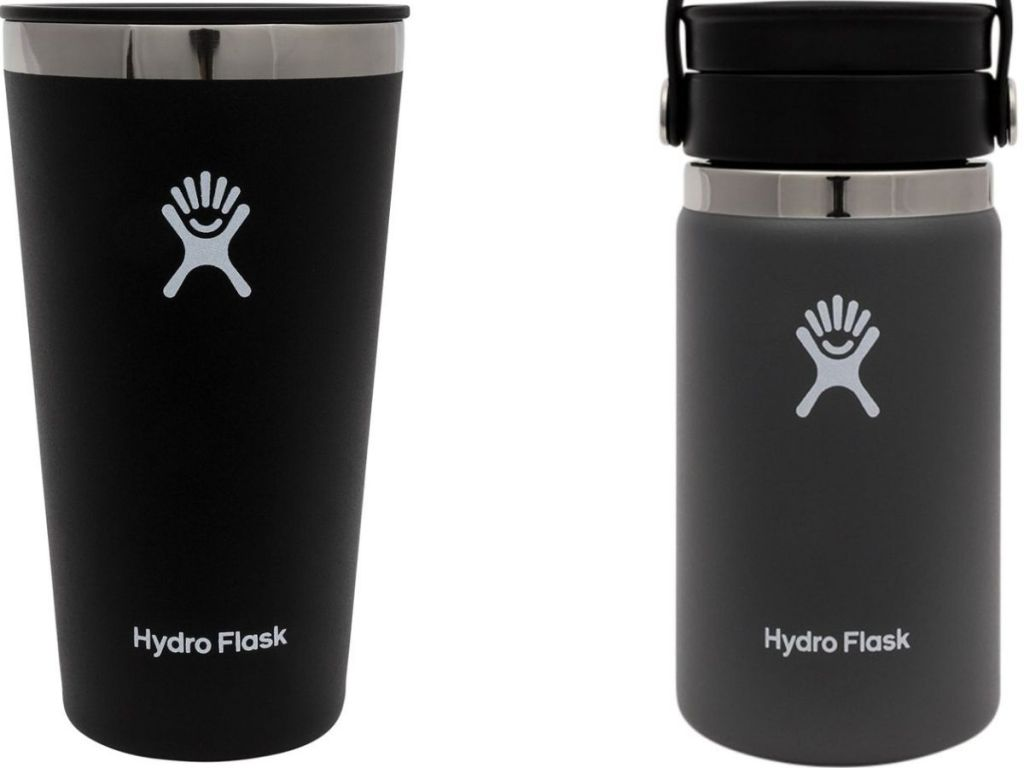 Hydro Flask Tumbler and Coffee Cup