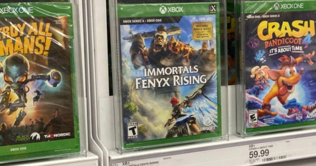 Immortals Fenyx Rising xbox video game