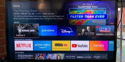 Insignia 32″ Smart HD TV w/ Fire TV Only $119.99 Shipped for Amazon Prime Members (Regularly $200)