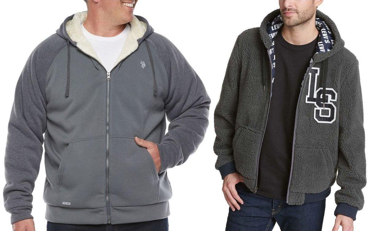 JCPenney Men's Sherpa Jackets