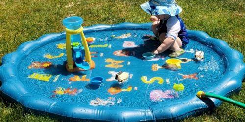 Kids Sprinkler & Splash Pad Only $11.99 on Amazon | Perfect for Summer