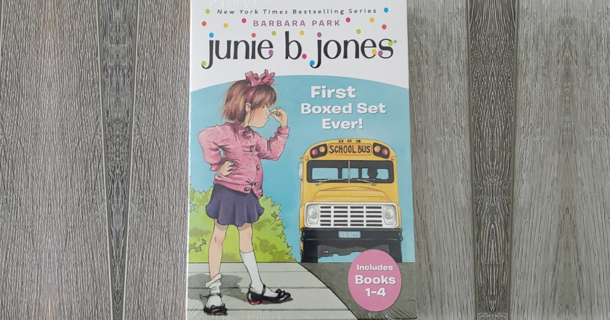 front cover of the junie b jones boxed set