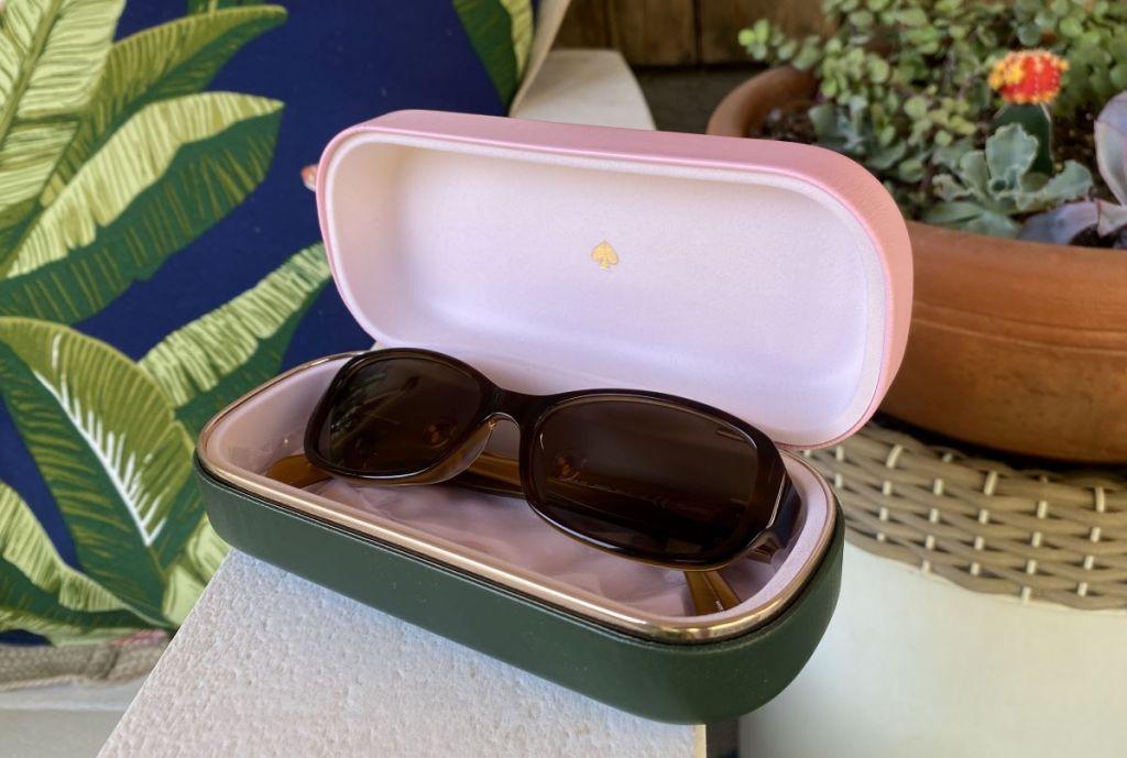 Kate Spade Sunglasses in a case