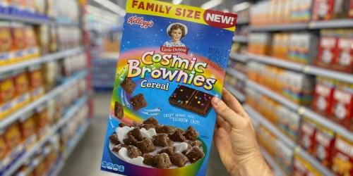 Little Debbie's Cosmic Brownies Fans Will Love Kellogg's New Cereal