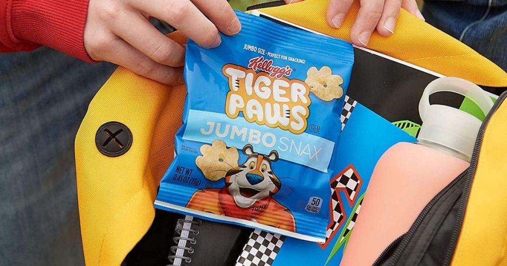 Kelloggs Tiger Paws Snacks