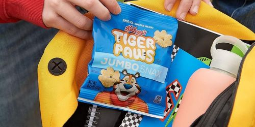Kellogg's Jumbo Snax 36-Count Only $9.74 Shipped on Amazon   Just 27¢ Per Pouch
