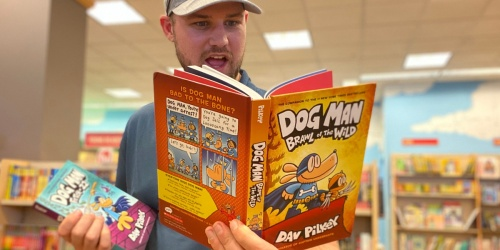 3 Dog Man Hardcover Books Just $10 on Amazon or Target.com + More Awesome Book Deals
