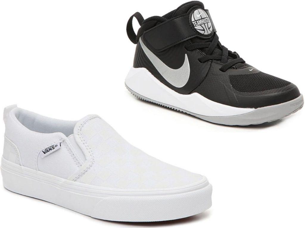 Kids Vans Shoes and Nike Sneakers
