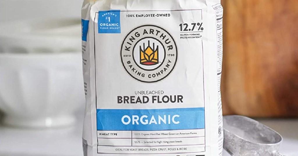King Arthur 100% Organic 2lbs Unbleached Bread Flour