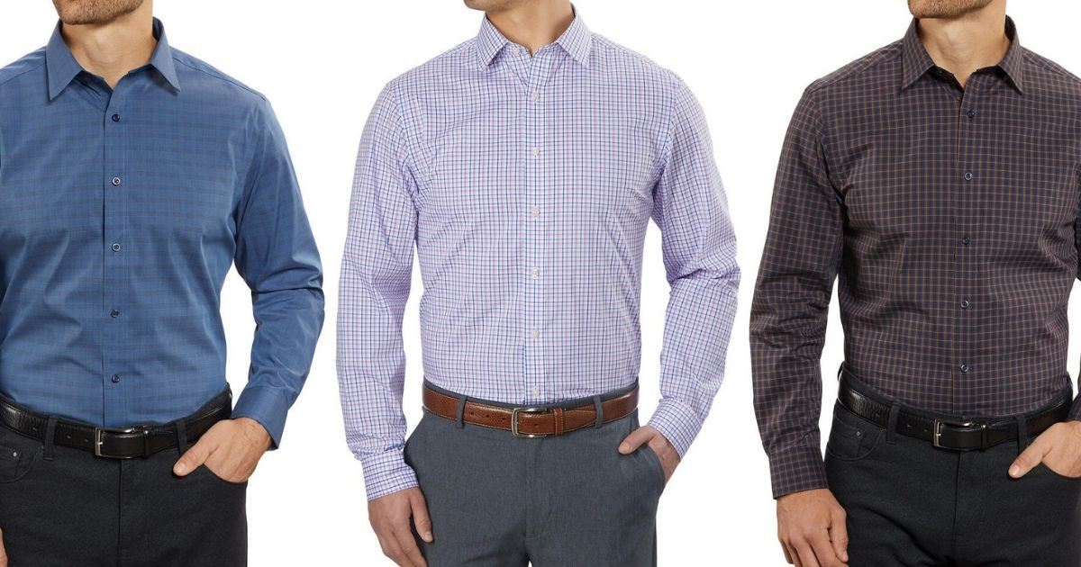 5 Kirkland Men's Dress Shirts Only $29.85 Shipped on Costco.com (Just $5.97 Each)