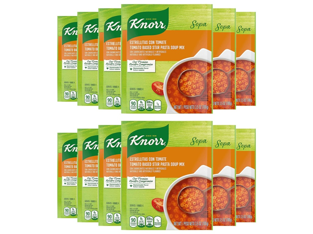 Knorr Tomato with Star Pasta Soup Mix