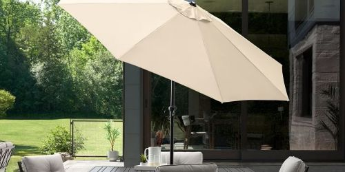 Sonoma Goods for Life 9-Foot Patio Table Umbrella Only $59.49 (Regularly $180) + Get $10 Kohl's Cash