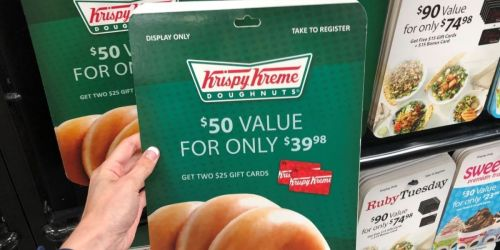 $50 Krispy Kreme Gift Card Only $37.50 Shipped on Sam's Club + More HOT Gift Card Deals