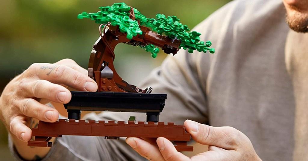 Bonsai tree themed LEGO set built