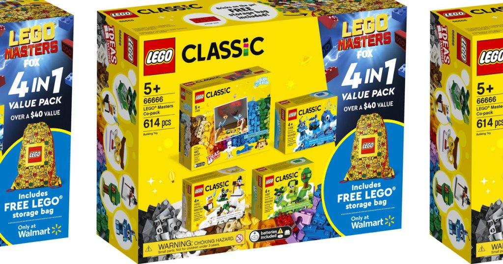 yellow lego classic builders set
