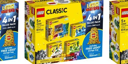 LEGO Classic 613-Piece Set w/ Storage Bag Only $25 on Walmart.com (Regularly $45)
