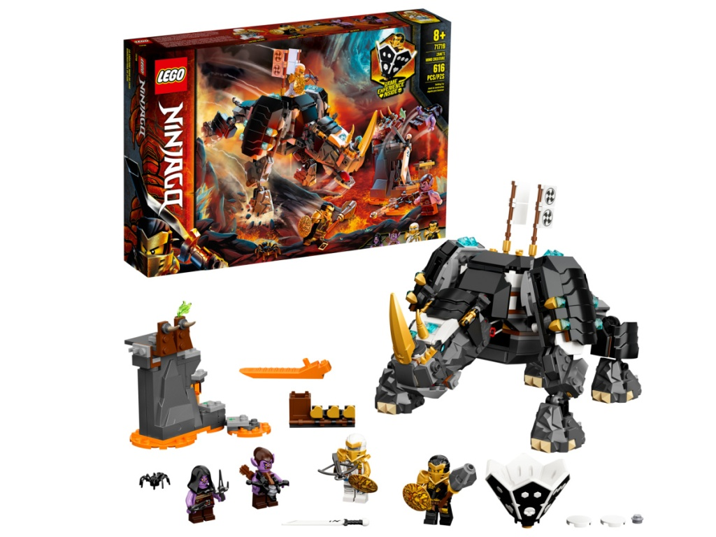 large Rhino themed LEGO set