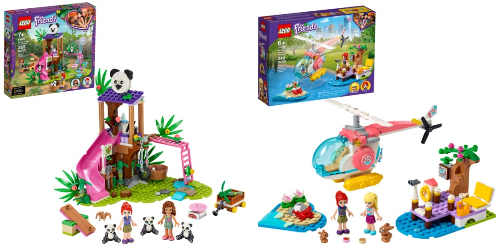 two LEGO friends themed sets