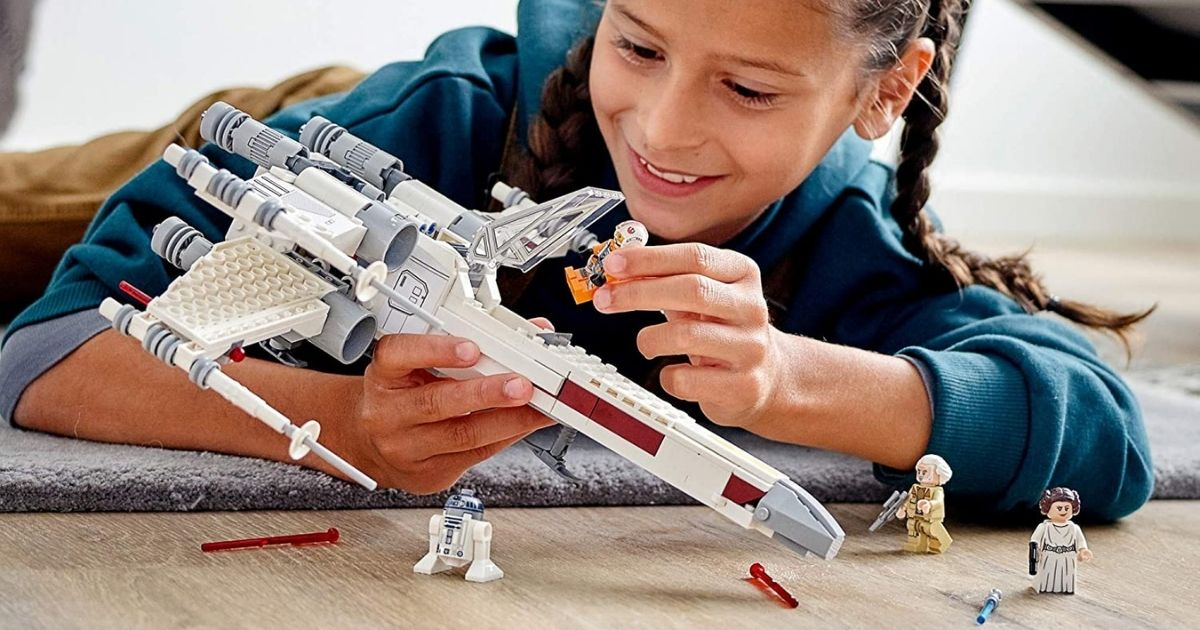 LEGO Star Wars Luke Skywalker's X-Wing Fighter Only $39.99 Shipped on Amazon or Walmart.com (Regularly $50)