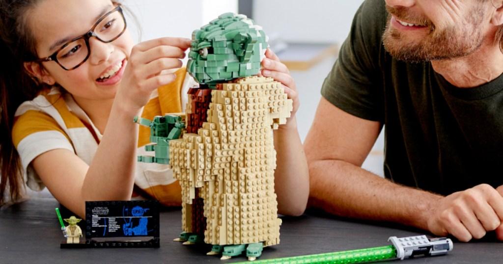 Yoda themed LEGO set