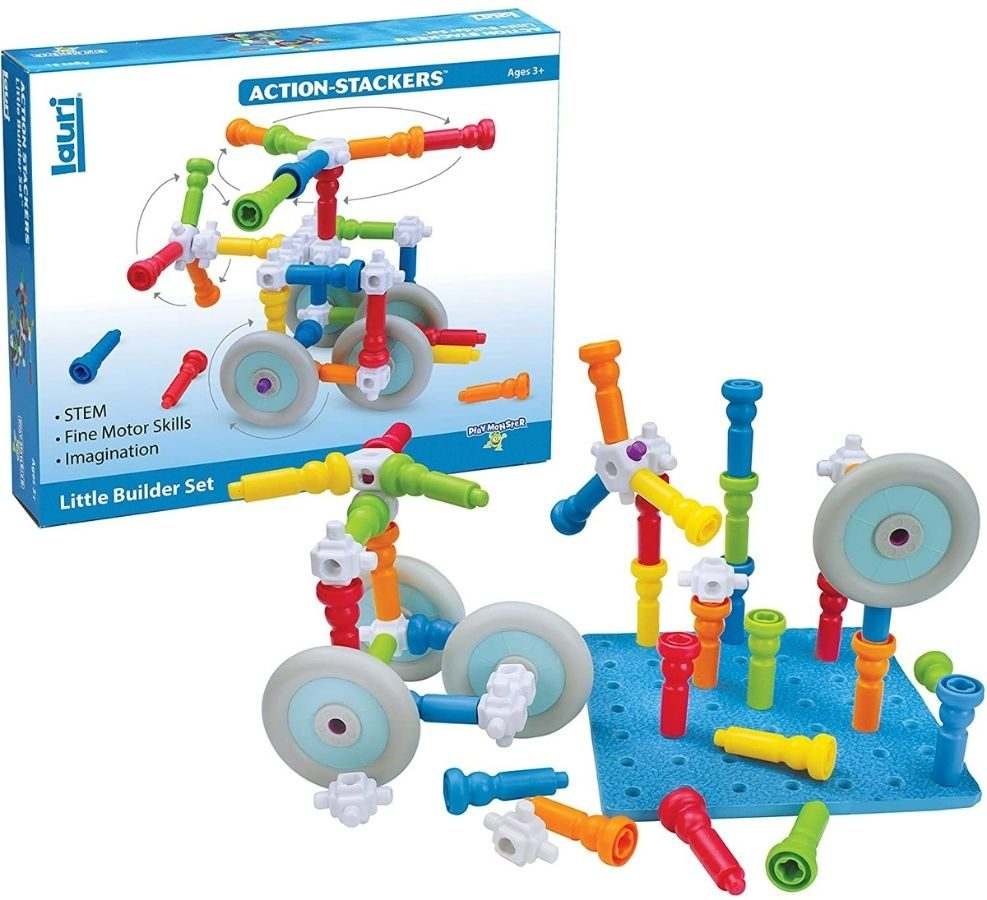 Lauri Action Stackers Little Builders Set