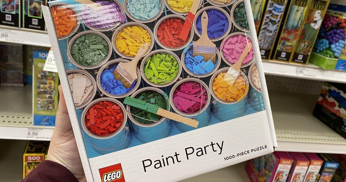 Lego Pain Party 1,000 Piece Puzzle